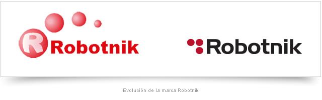 Evolución marca Robotnik