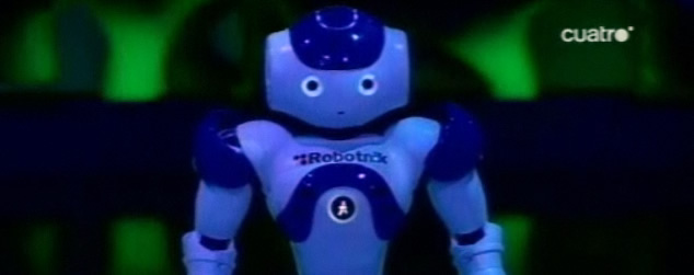 Robot Nao en el Hormiguero