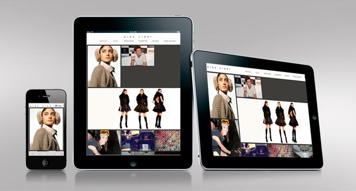 Diseño web responsive para alex vidal
